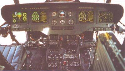 Tampilan kokpit Mi-17-V5