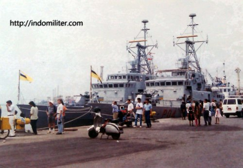 Animo masyarakat pada kedua kapal saat Arung Samudra 1995