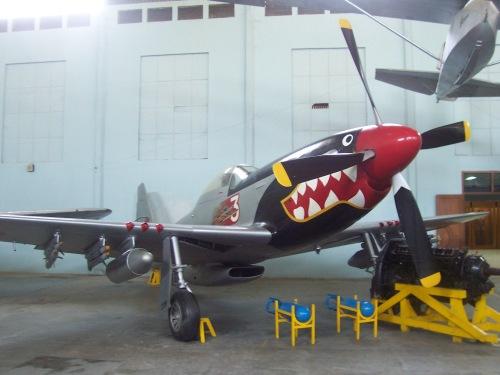 P-15D Mustang TNI AU, jawara Perang Dunia Kedua ini menjadi pengusung generasi awal FFAR di Tanah Air