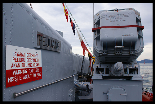 MM-38 Exocet adalah senjata andalan kapal patroli ini