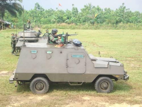 Commando Ranger milik Paspamres mengandalkan M-60.