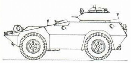 Commando Scout Paspamres juga mengandalkan M-60 secara coaxial pada kubahnya.