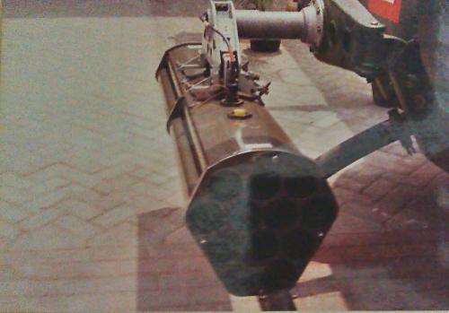 Peluncur FFAR pada heli NBO-105 Penerbad