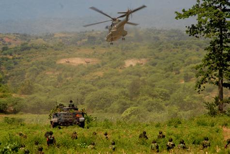 Kemampuan dropping pasukan menjadi salah satu tugas utamanya.