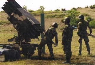 NDL-40, MLRS FFAR versi towed untuk kebutuhan Armed TNI AD