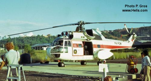 SA-330 milik Pelita Air Service