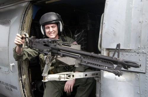 M-60C saat ini juga masih jadi andalan di heli SH-60 Seahawk