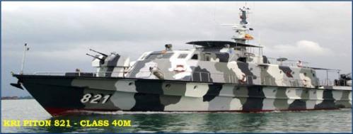 Kanon 2M3 25mm kini menjadi andalan di haluan KRI Piton 821