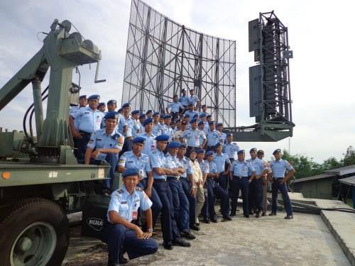 Awak Satuan Radar 231 Lhokseumawe. Foto: satrad231.blogspot.com