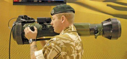 Personel Inggris dan NLAW