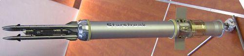 3 buah dart menjadi ciri khas dari Starstreak