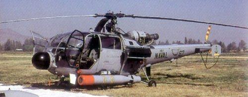 Alouette versi AKS, lengkap dengan radar Doppler dan torpedo MK46