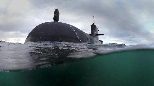 HMAS Waller, salah satu Collins class RAN