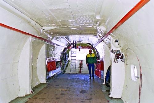 Tampilan ruang cargo