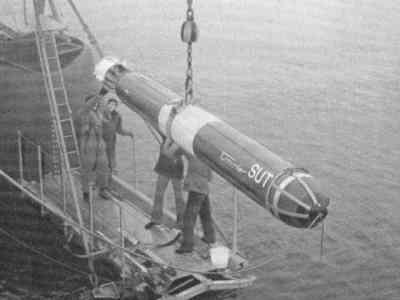 Torpedo SUT AEG, berkaliber 533 mm, untuk kapal selam dan armada KCT TNI AL