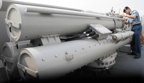 Peluncur B515, wahan peluncur torpedo A244-S pada korvet SIGMA TNI AL