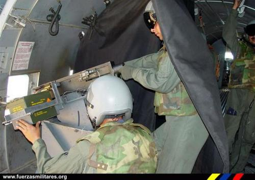 Aksi juru tembak AC-47 AU Kolombia