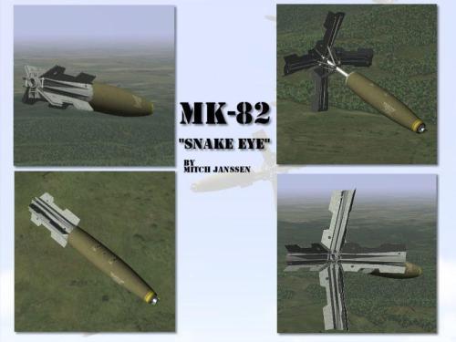 mk-82-snake-eye