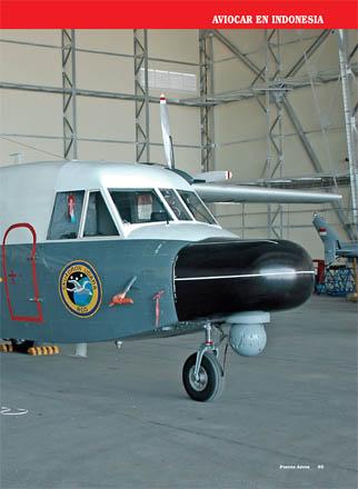FLIR dipadukan dengan radar Ocean Master, fokus hardware penjejak dipusatkan pada bagian hidung pesawat