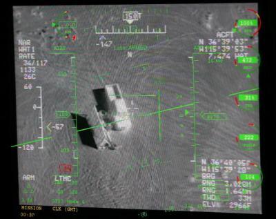 Obyek di permukaan dapat ditangkap meski dalam kegelapan, ini berkat adanya teknologi infra red.