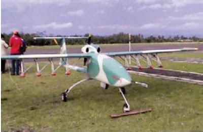 Wulung dapat membawa beban seberat 25 kg yang ditempatkan dibawah sayap.