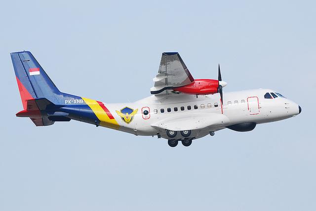 CN-235 MPA pesanan Korea Selatan, juga mengadopsi belly dome radar