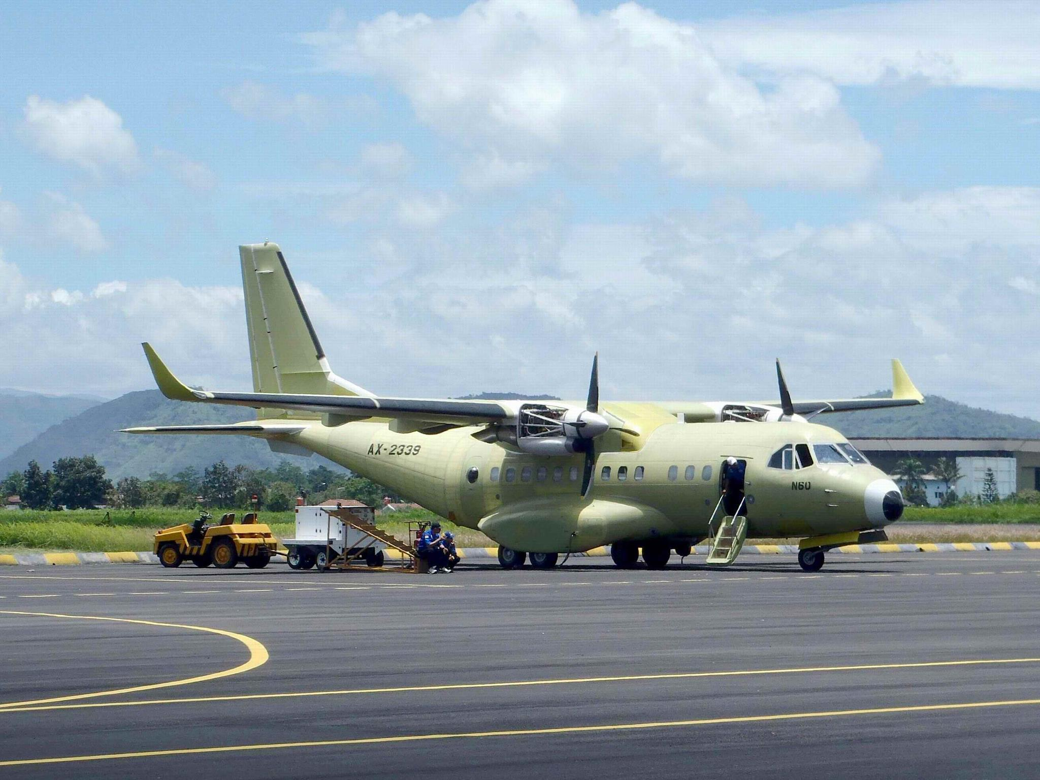 Pesawat CN235-220 | Sumber: Indomiliter.com