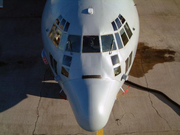 Windows Observer yang luas menjadi keunggulan utama bagi C-130 untuk misi intai.
