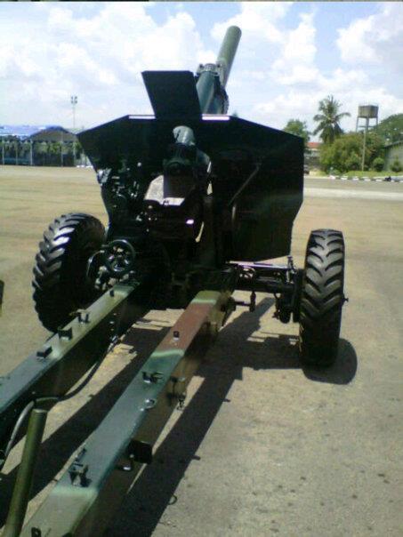 M-30 retrofit milik Korps Marinir TNI AL dengan adopsi roda baru.