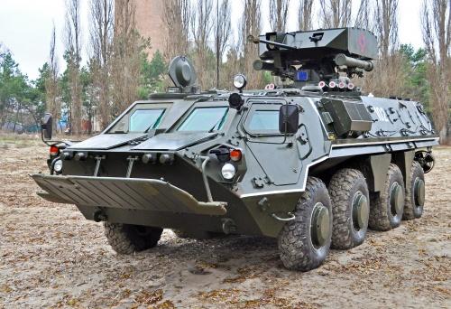 BTR-4 GROM module