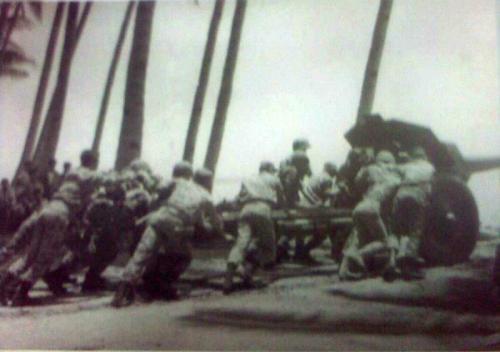 Gelar M-30 Howitzer dalam operasi Trikora