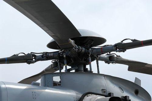 Rotor utama dilengkapi 5 bilah baling-baling.