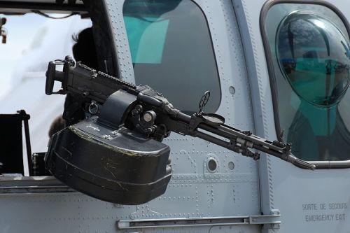 Super Cougar dibekali dua pucuk FN MAG kaliber 7,62 mm sebagai door gun.