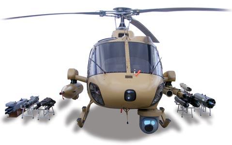 Beragam varian senjata Fennec, selain dilengkapi FLIR, heli ini pun sanggup meladeni duel di udara dengan rudal Mistral