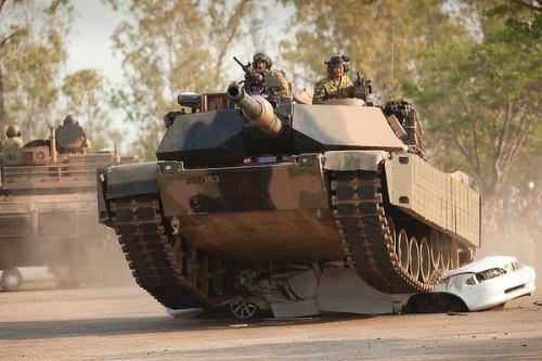 M1A1 AIM Abrams Australian Army