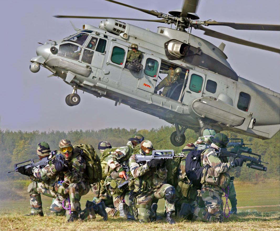 Perancis sangat mengandalkan heli ini dalam misi combat rescue.