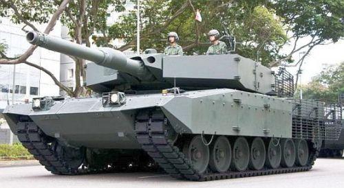 Leopard 2 A4S Evo Singapura