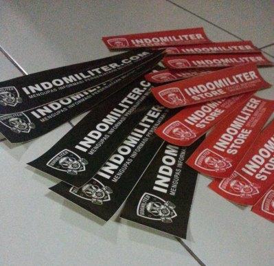 Bonus stiker Indomiliter.com