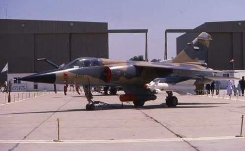 Mirage F1 AU Irak dengan Kh-29