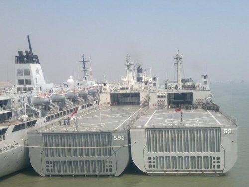 Dengan perannya strategis, wajar bila dalam setiap operasi LPD selalu mendapat kawalan dari Satuan Kapal Eskorta.