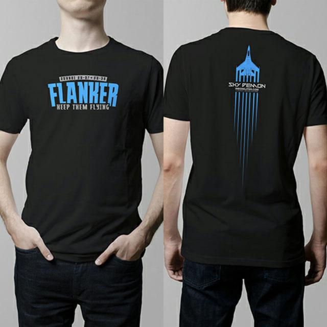 Limited Edition - Warna hitam - (Light Blue sablon) - Kode pemesanan : SKFL006BL. Harga : Rp100.000,-