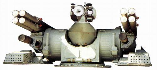 Palash, kombinasi duo AK-630 dengan peluncur rudal anti pesawat.