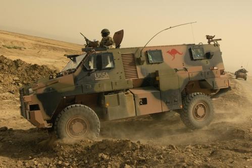 Bushmaster Australia di Afghanistan.