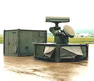 Unit sensor dan Command Post.