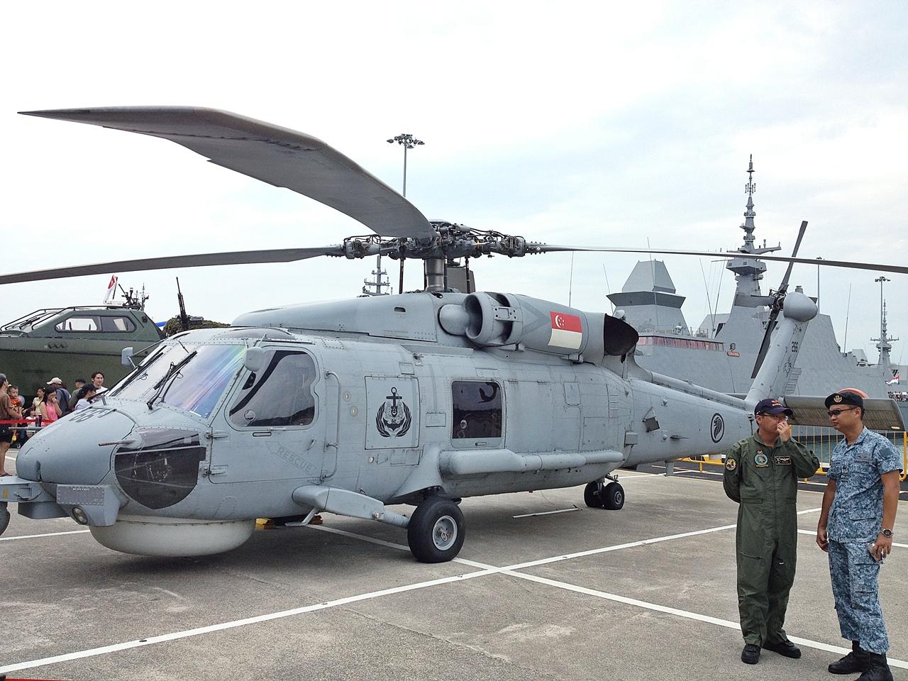 Seahawk S-70B Singapura