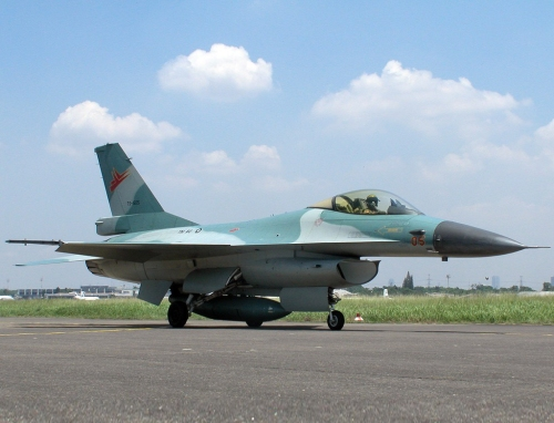 F-16 A Block 15 Skadron Udara 3.
