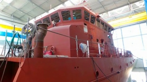 Proses finishing OCEA OSV190 SC WB