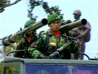 LRAC 89 juga digunakan oleh satuan Kostrad TNI AD.