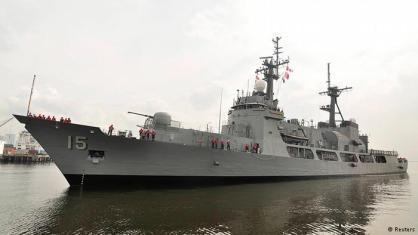 Salah satu frigate AL Filipina, yang merupakan eks US Cost Guard. AL Filipina menjadi yang terlemah dari segi persenjataan.