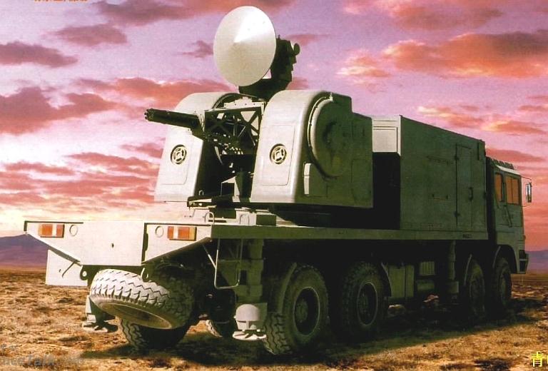 Norinco juga m,enawarkan LD-2000, yang tak lain versi darat dari Type 730.